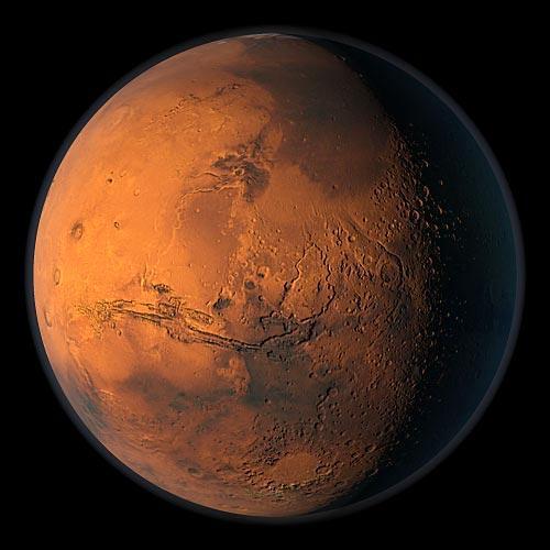 Зубы драконов на Земле и Марсе