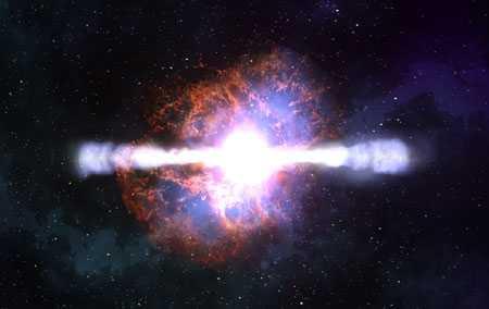 Взрыв гигантской звезды скоро погубит человечество