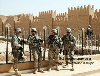 Американцы  Раскатали ульдозерами Вавилон