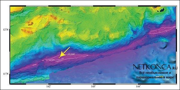 Составлена карта Марсианской впадины с беспрецедентной точностью.